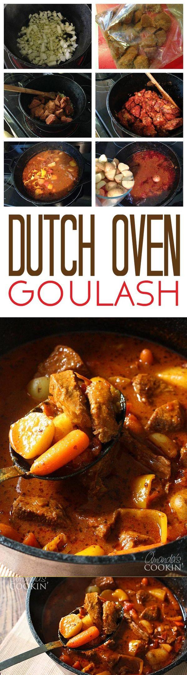 Dutch Oven Goulash