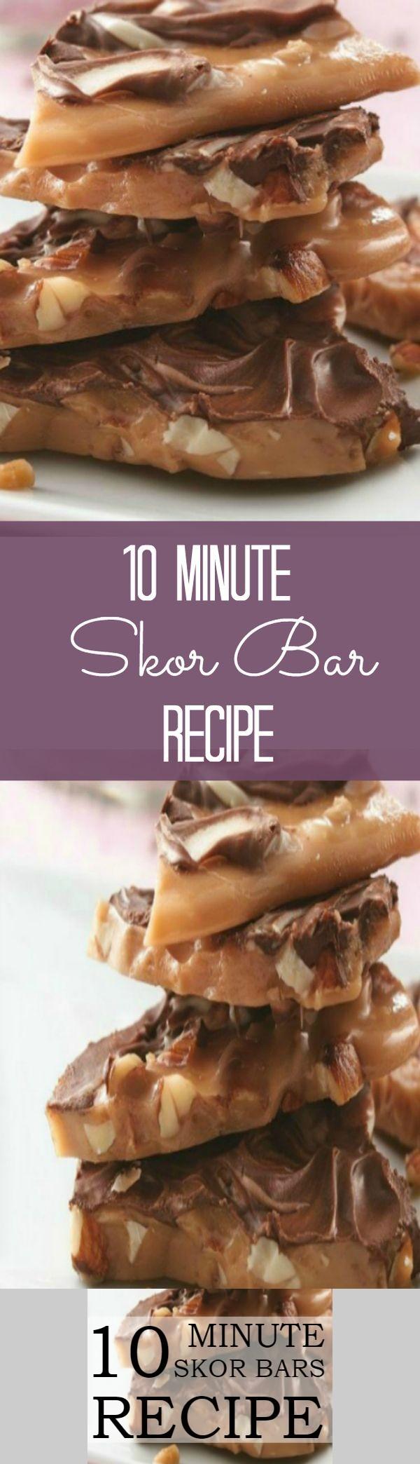 10 Minute SKOR Bars