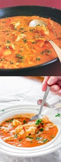 Brazilian Shrimp Soup