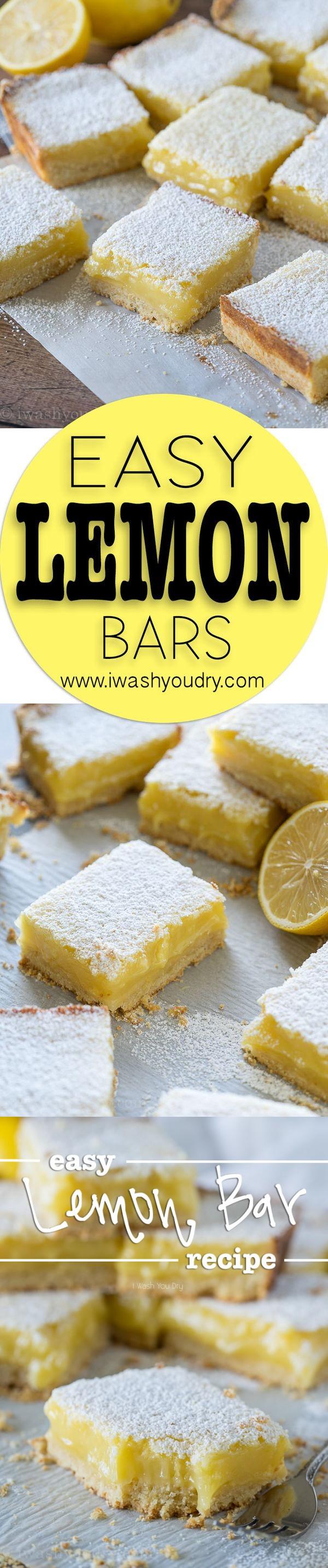 Easy Lemon Bar