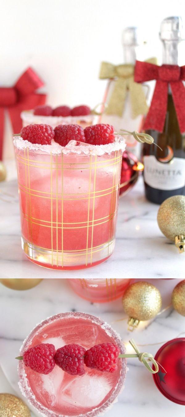 Easy Raspberry Sparkler