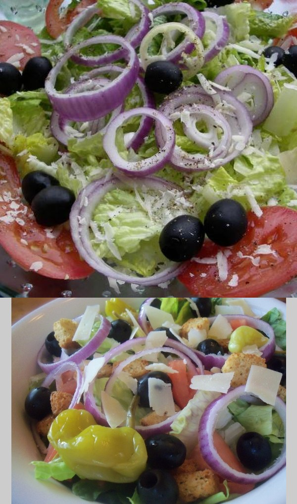 Olive Garden Salad (Copycat