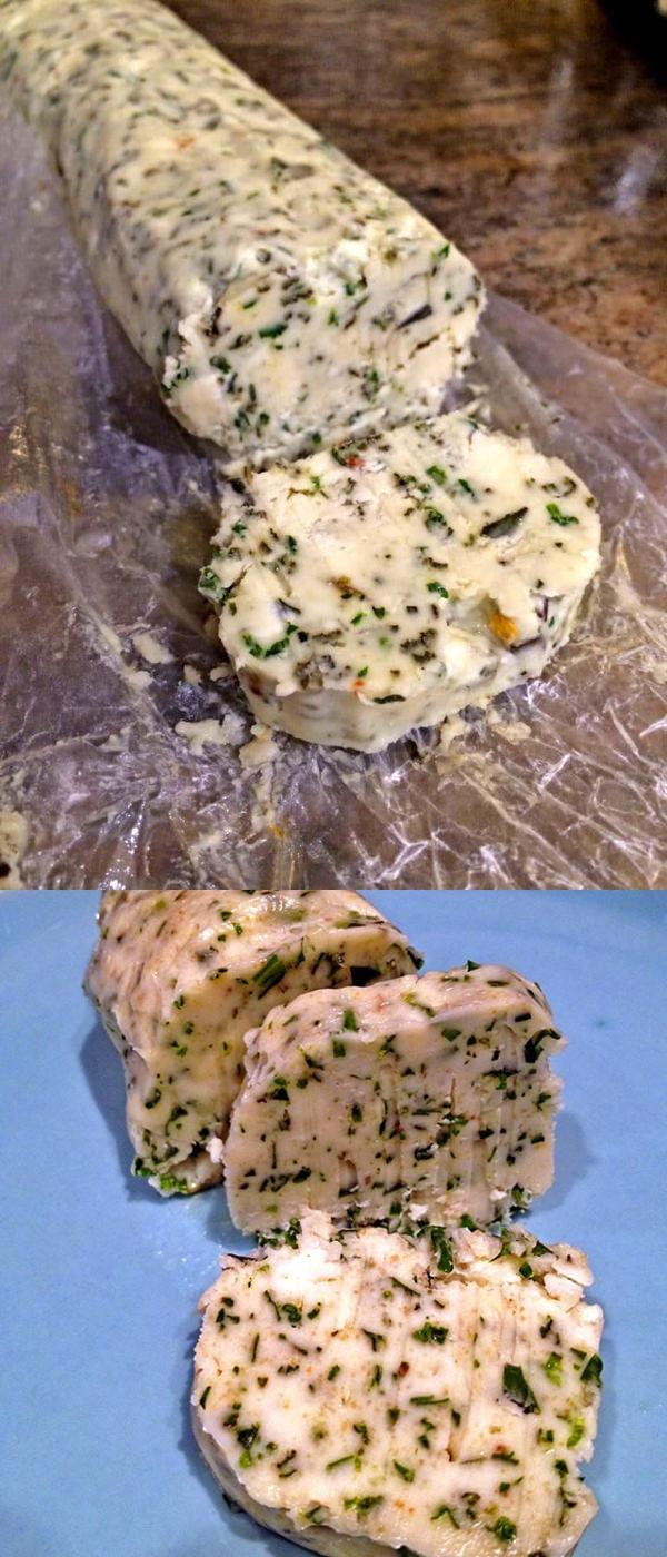 Herb Gorgonzola Compound Butter