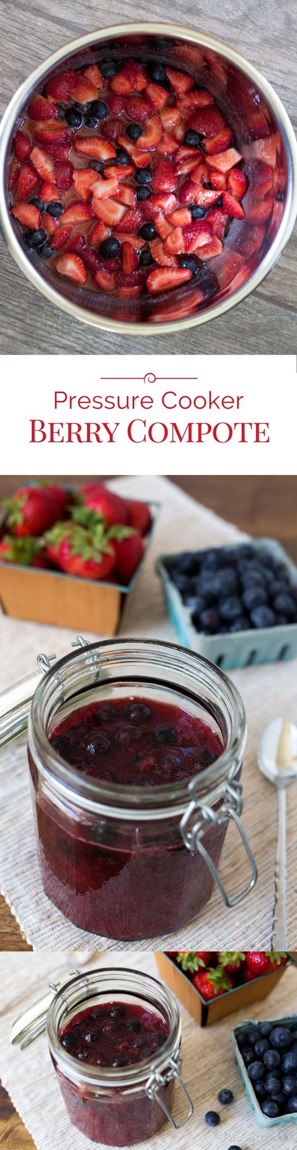 Pressure Cooker Berry Compote