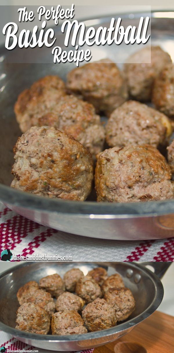 The Perfect Basic Meatball