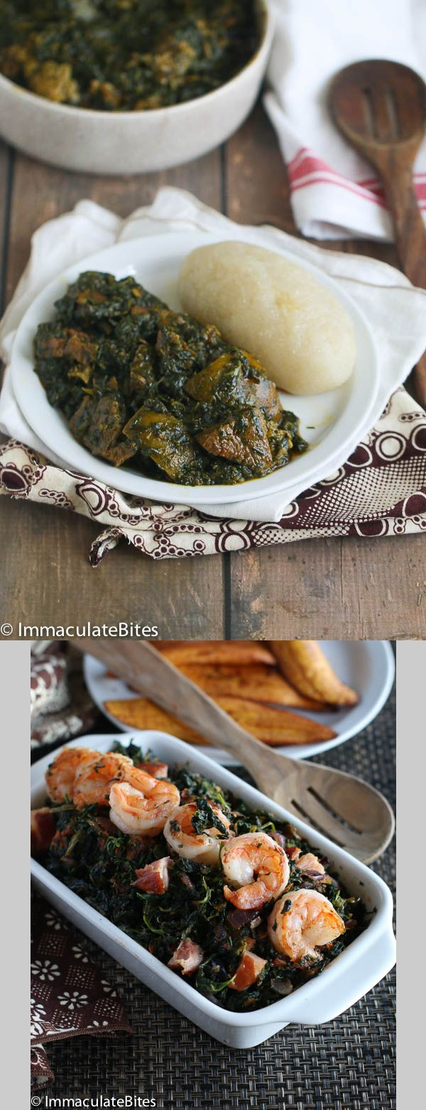 African Stewed Spinach