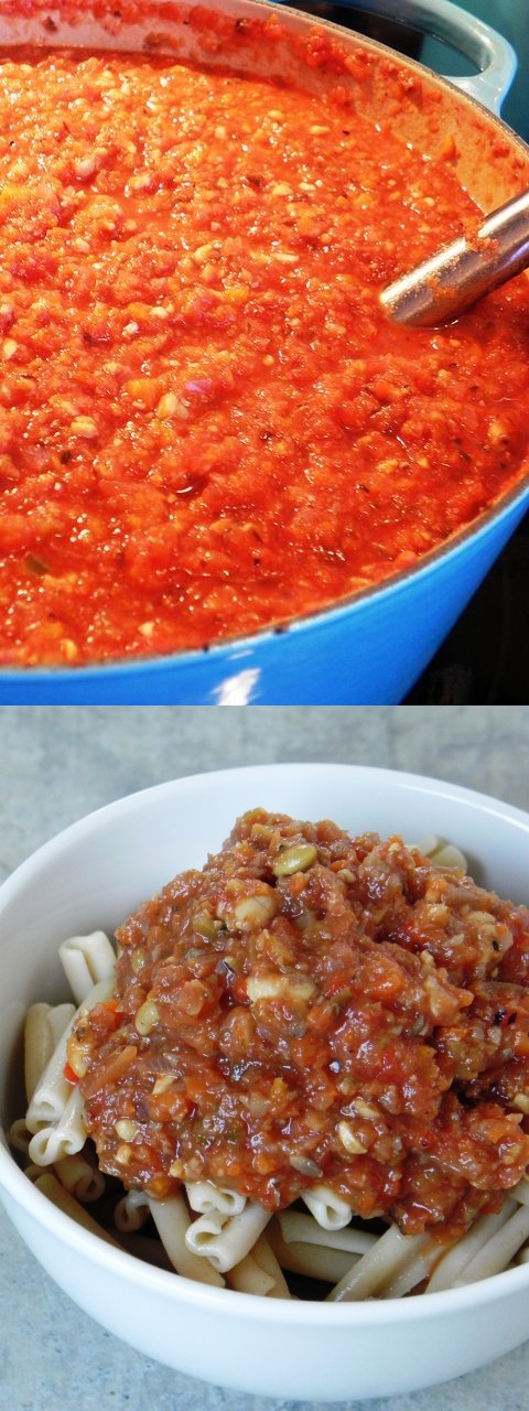 Eat To Live Bolognese: the World's Healthiest Pasta Sauce