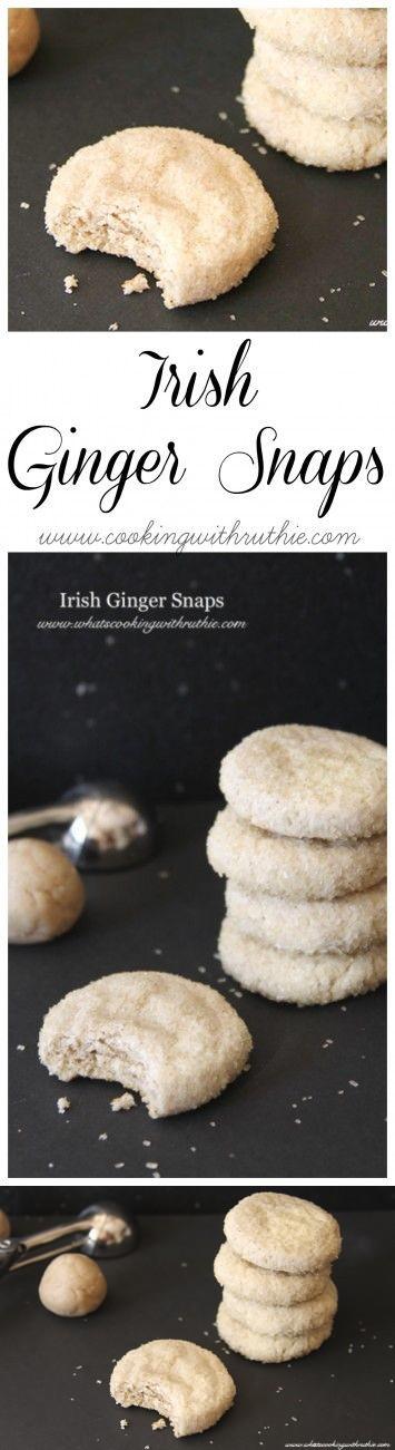 Irish Ginger Snaps