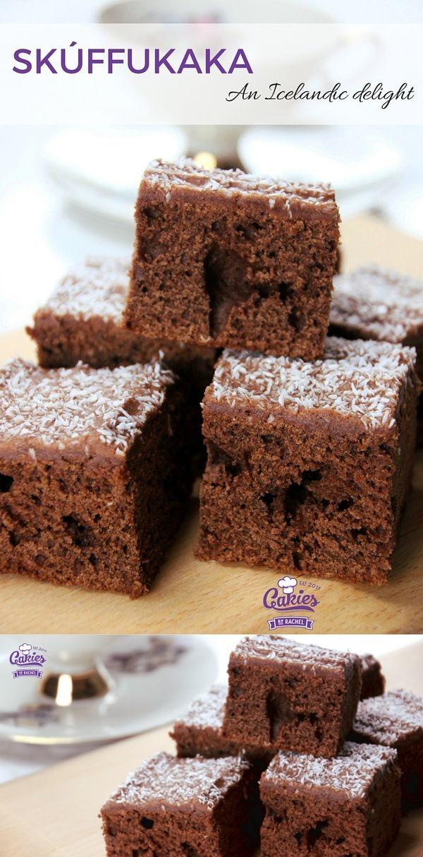 Skúffukaka - Icelandic Brownies