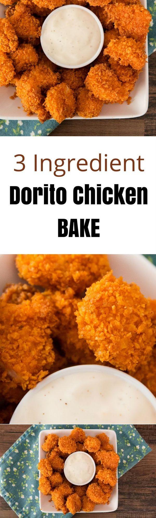 3 Ingredient Popcorn Chicken