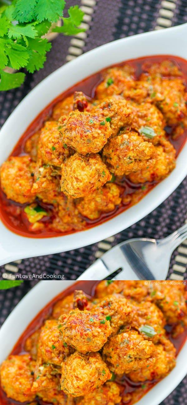 Chicken Kofta Curry (Meatball