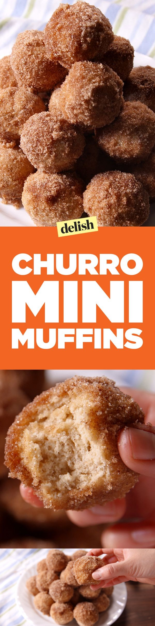Churro Mini Muffins