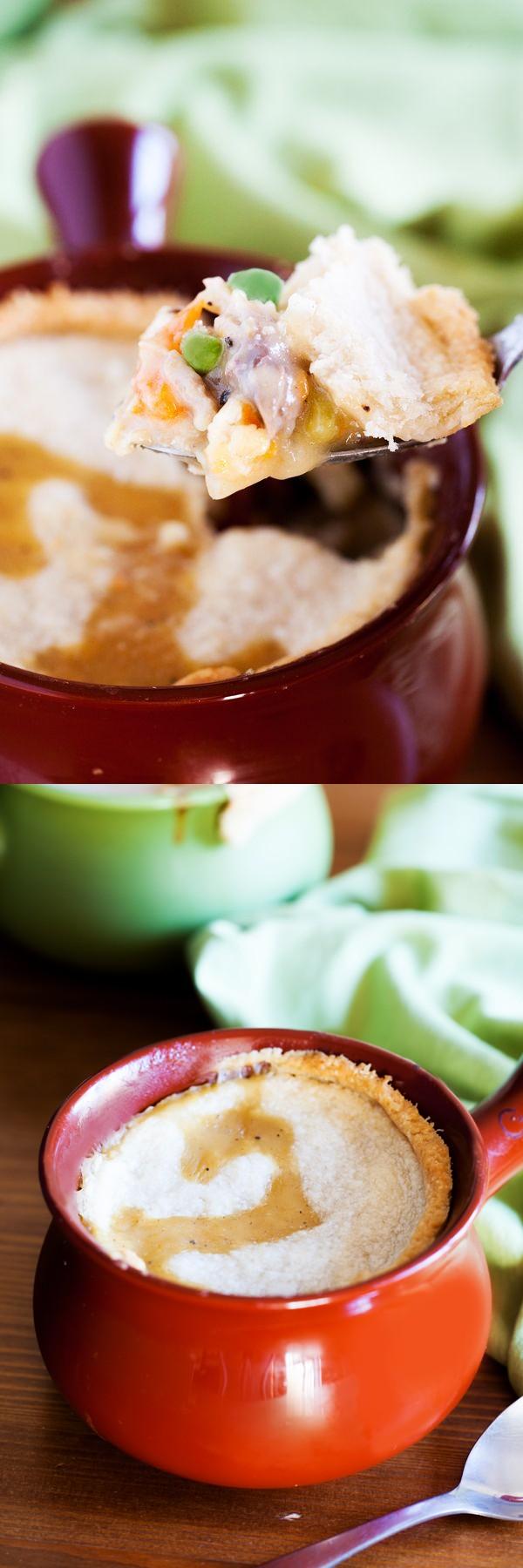 Dairy-Free Chicken Pot Pies
