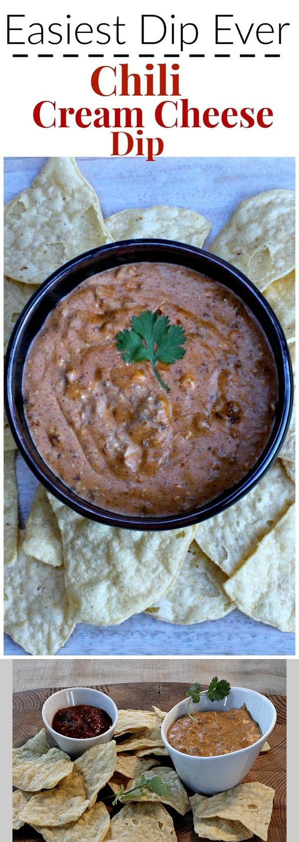 Easiest Dip Appetizer Ever, Cream Cheese and Chili