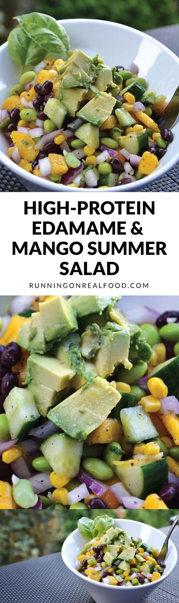 Edamame & Mango Salad