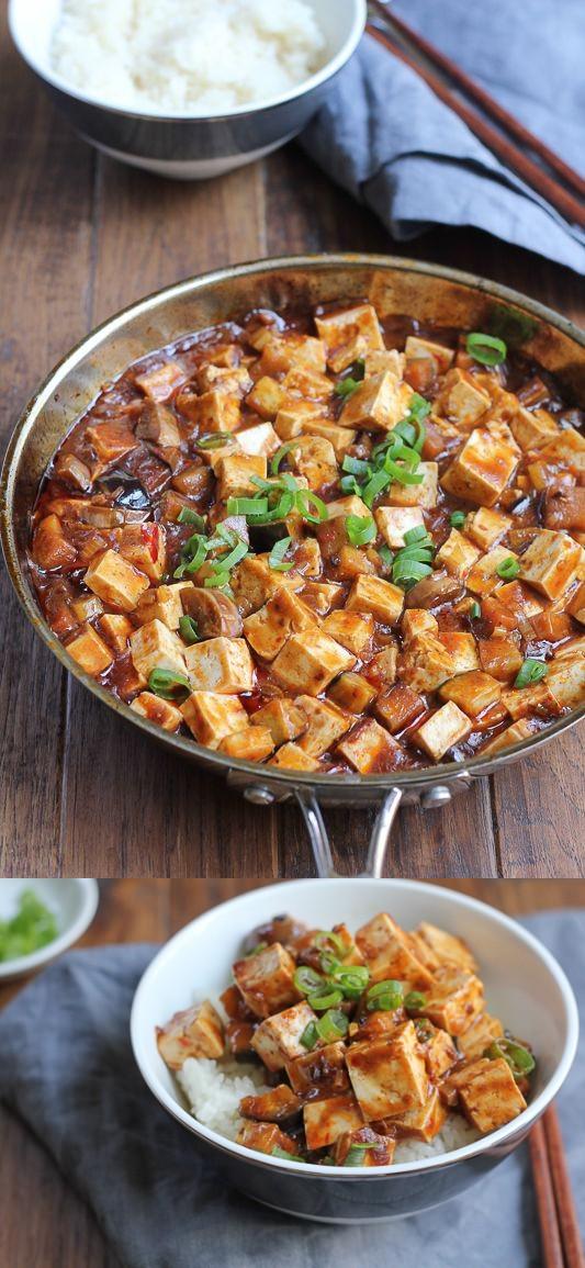 Eggplant Mapo Tofu