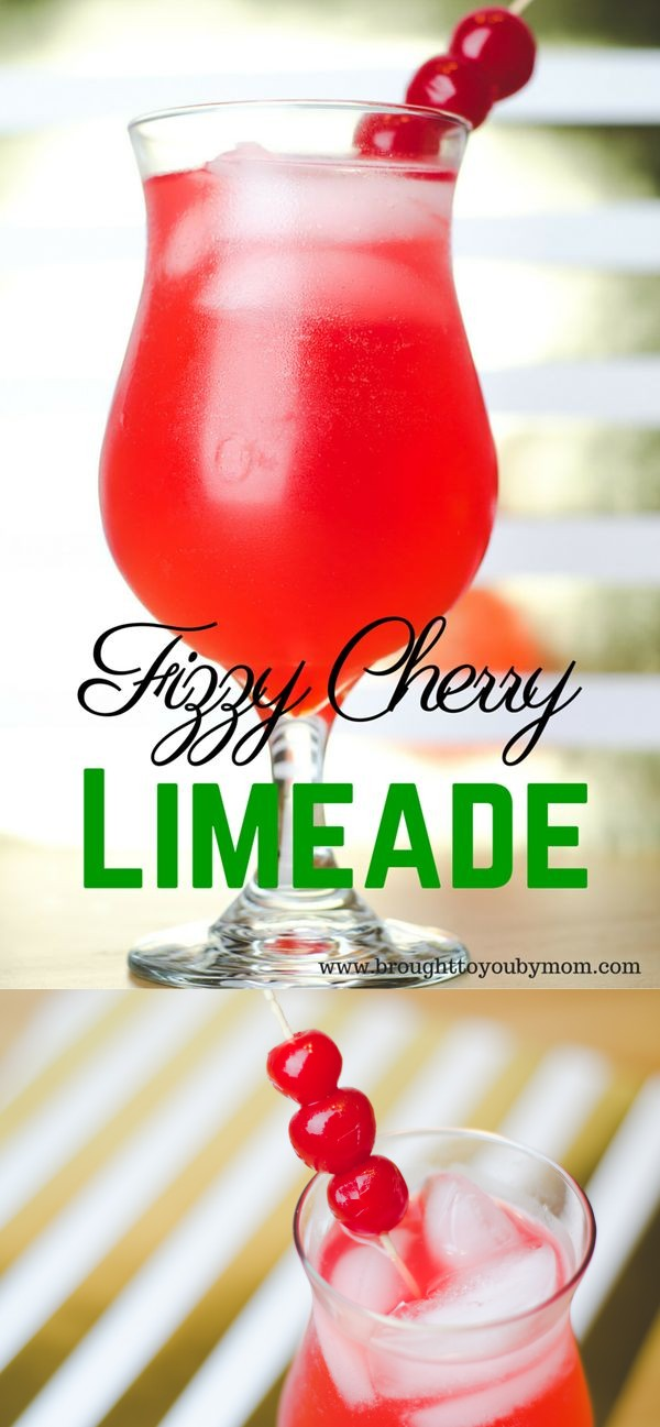 Fizzy Cherry Limeade
