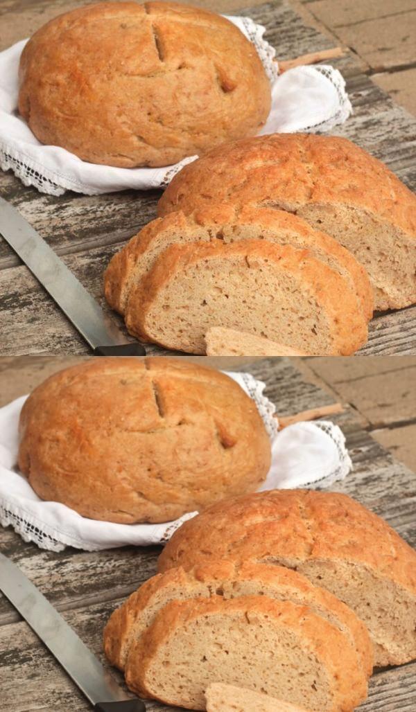 Gluten-Free No-Knead Bread