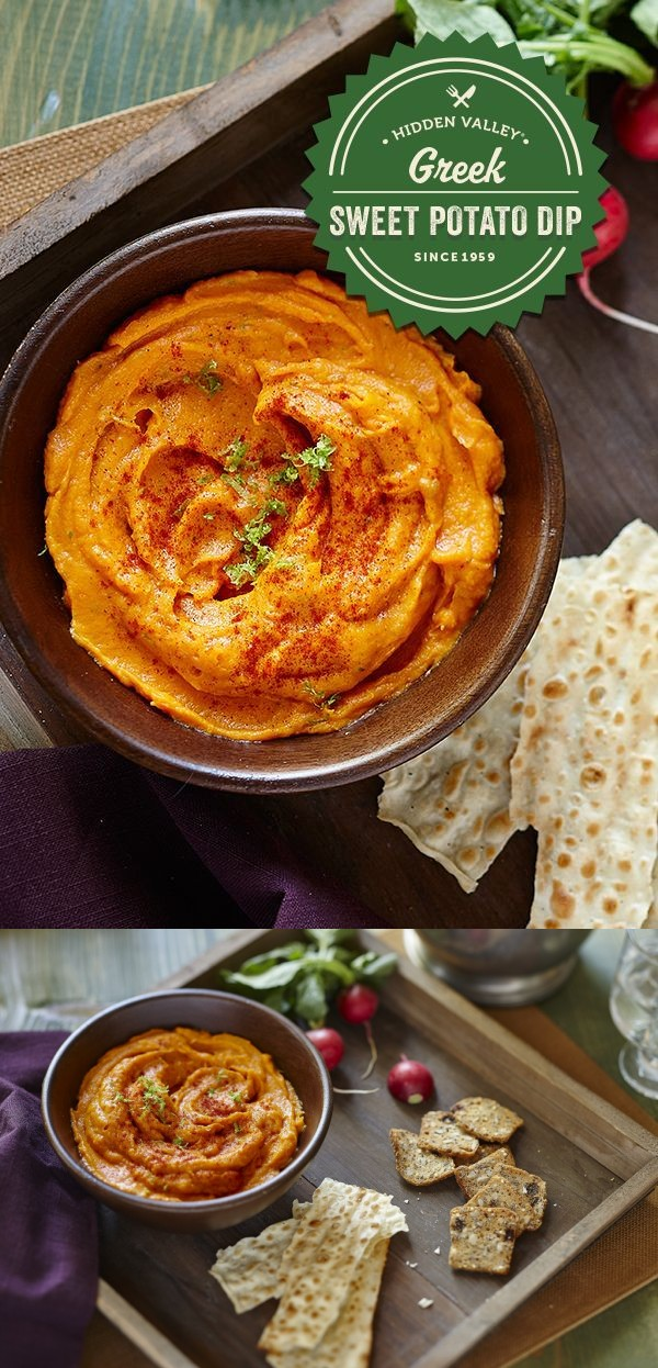 Greek Sweet Potato Dip