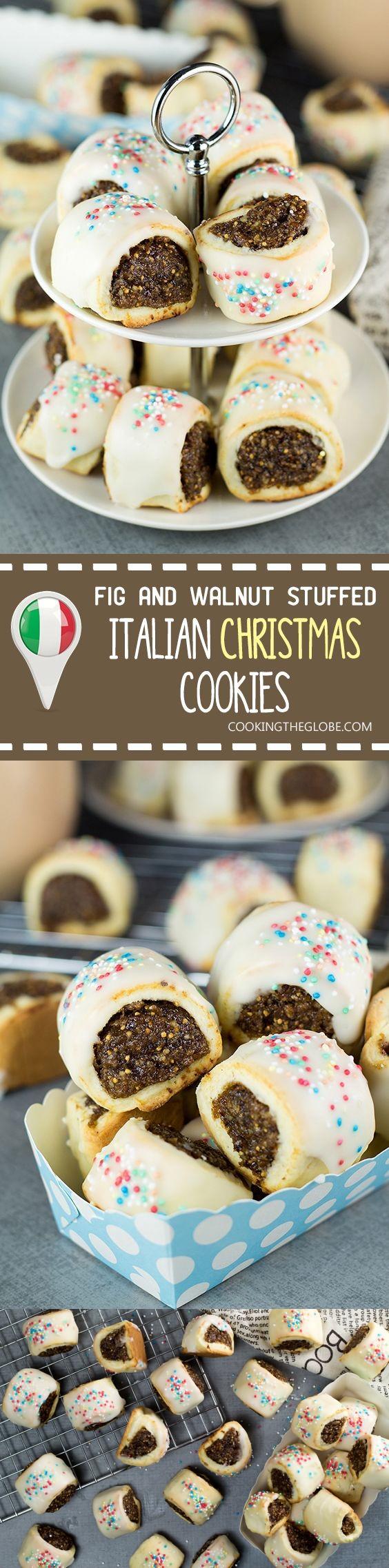 Italian Christmas Cookies with Figs & Walnuts
