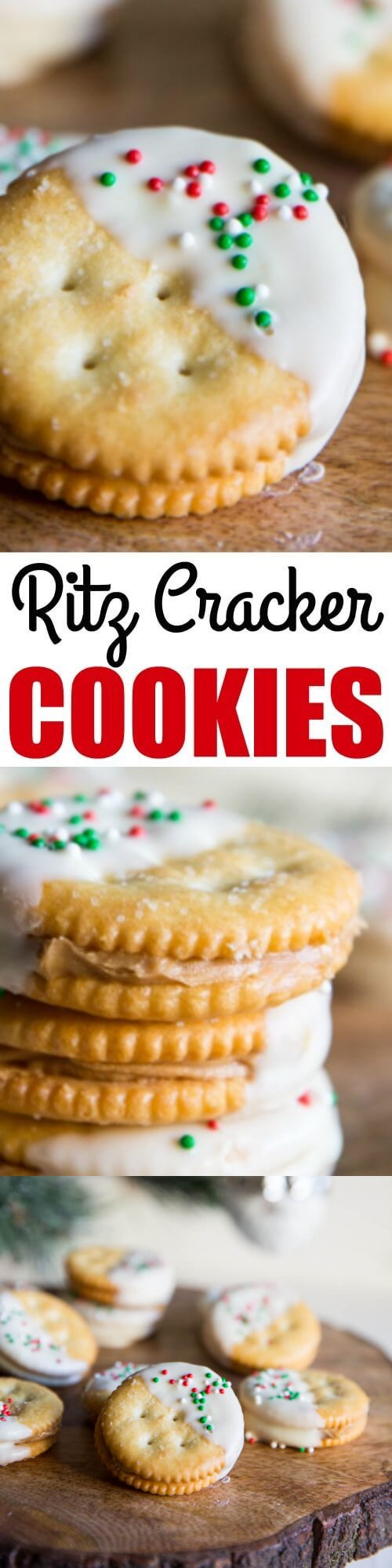 Ritz Cracker Cookies