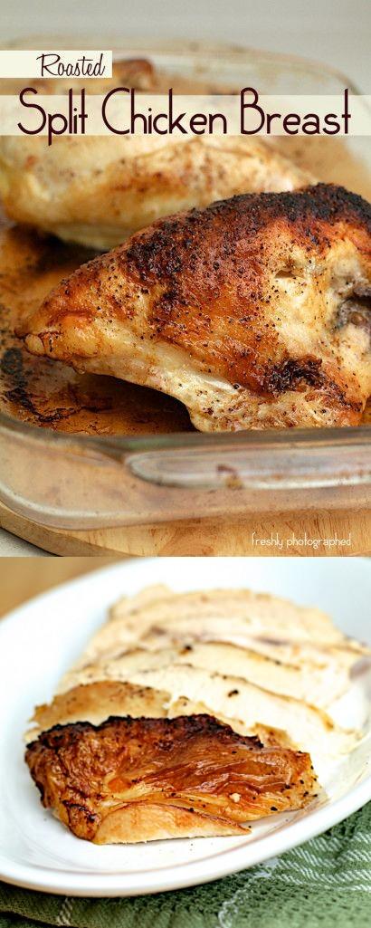 Roasted Split Chicken Breast