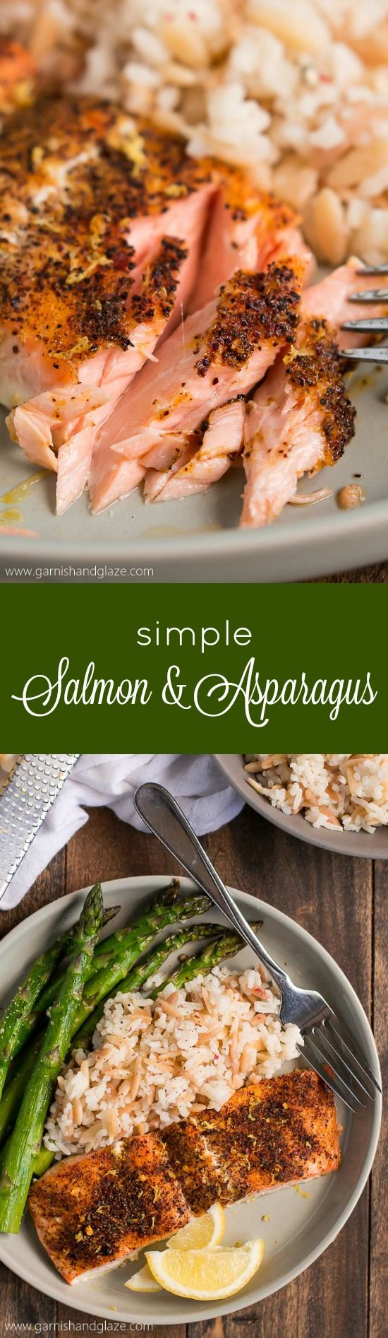 20 Minute Simple Salmon & Asparagus