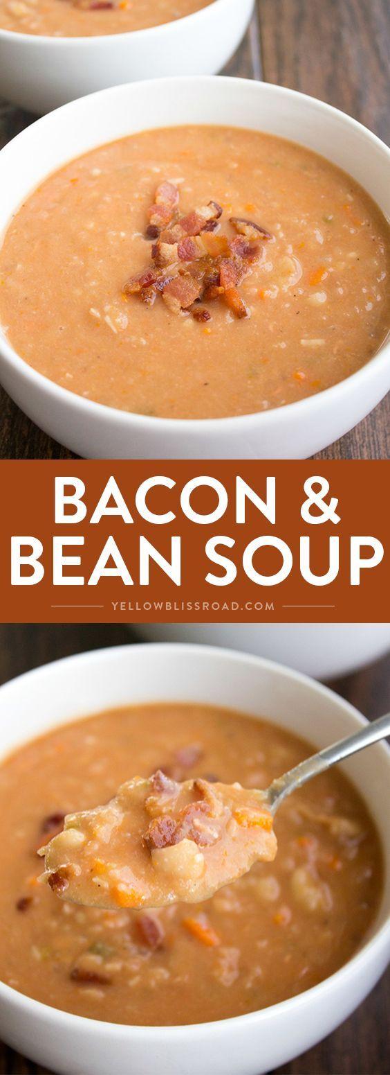 Bacon & Bean Soup