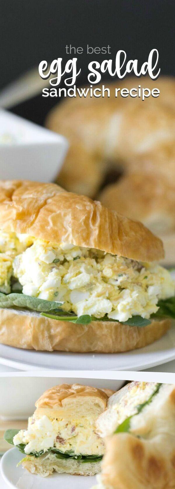 Best egg salad sandwich ever