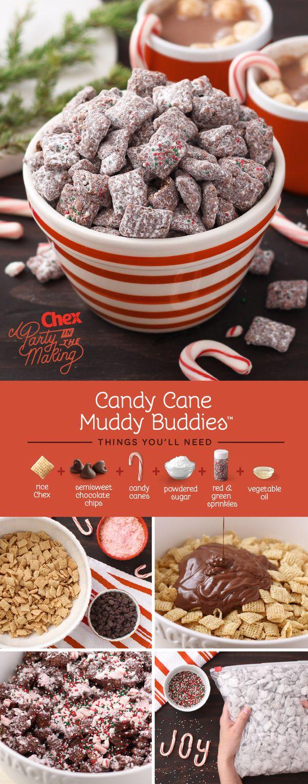 Candy Cane Muddy Buddies™