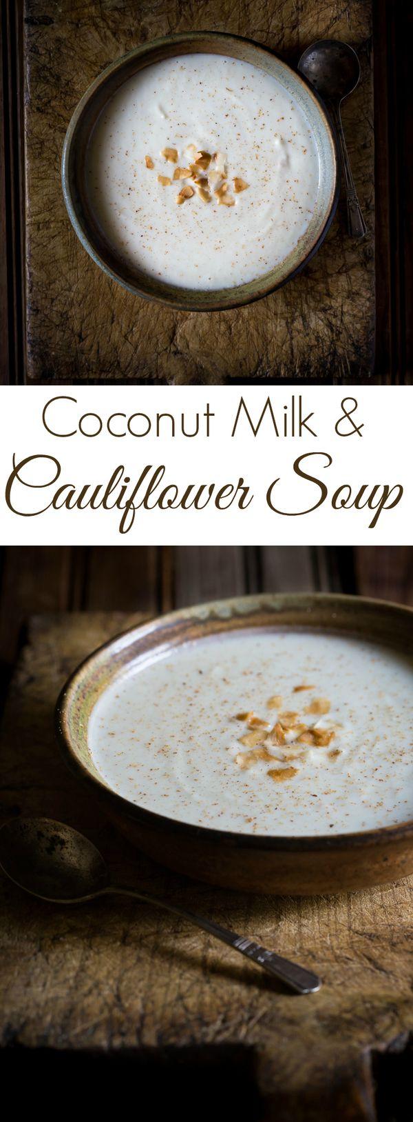 Cauliflower and Coconut Milk Soup