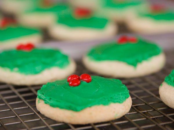 Christmas Cake Cookies