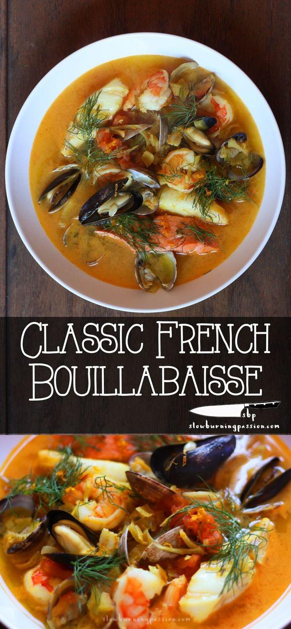 Classic French Bouillabaisse