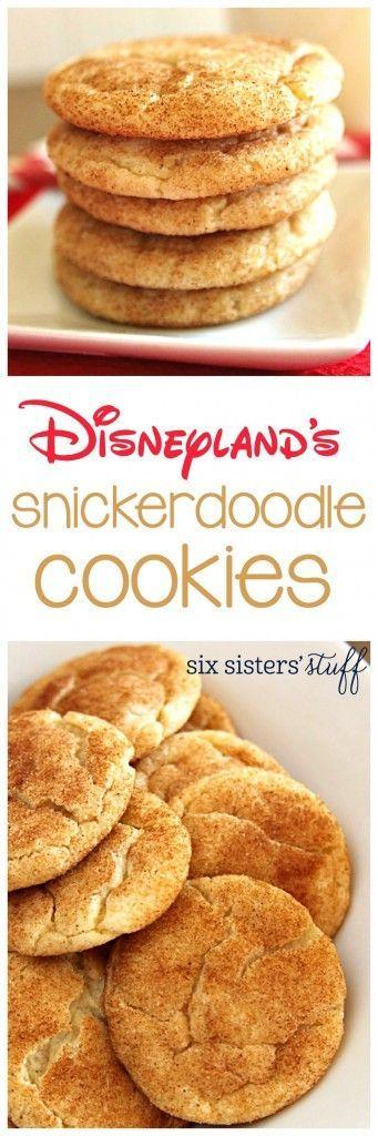 Disneyland's Snickerdoodle Cookies
