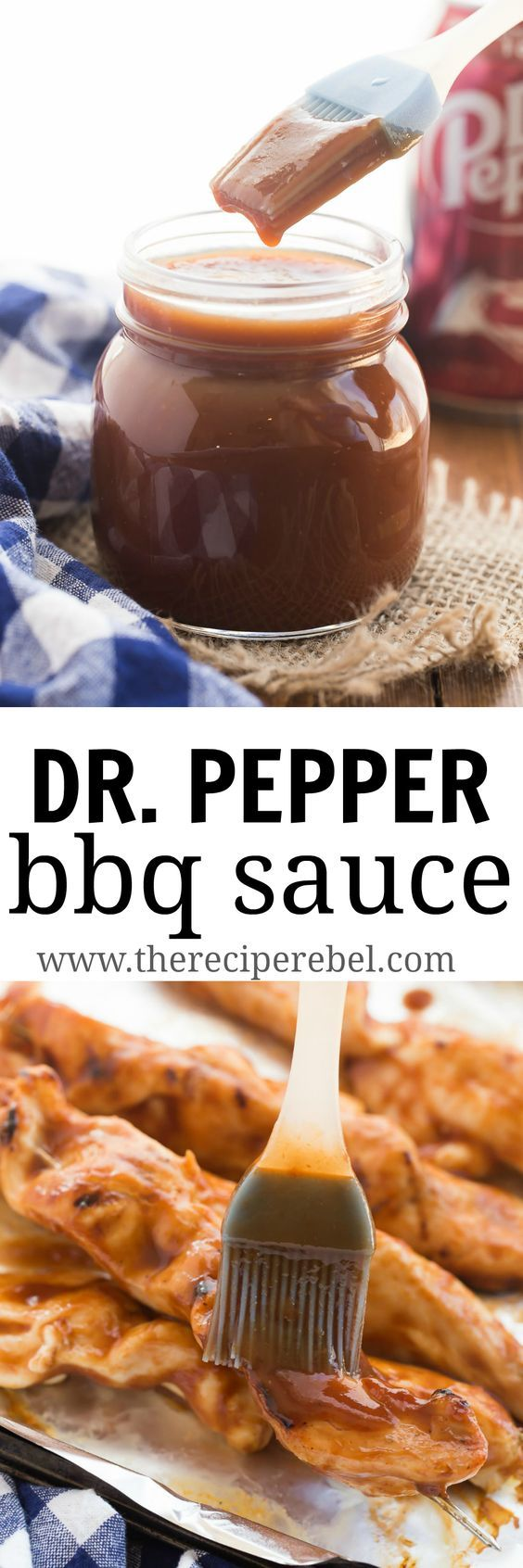 Easy Homemade Dr. Pepper BBQ Sauce