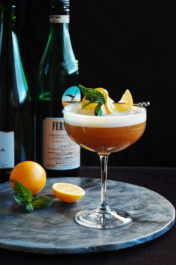 Fernet Champagne Flip