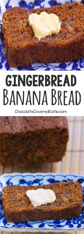 Gingerbread Banana Bread