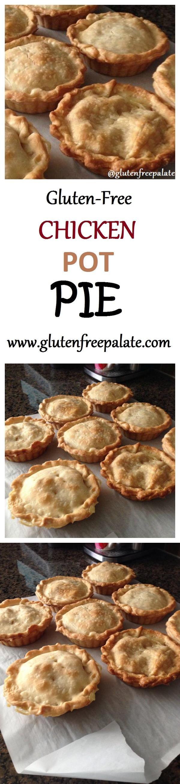 Gluten-Free Chicken Pot Pie (11 Ingredients