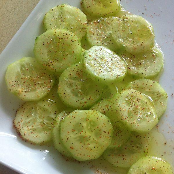 Healthy Cucumber Snack