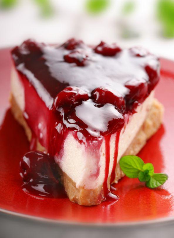 Ho ho ho Holiday Cherry Cheesecake sugar free