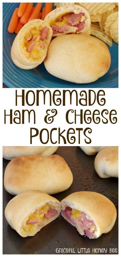 Homemade Ham and Cheese Pockets