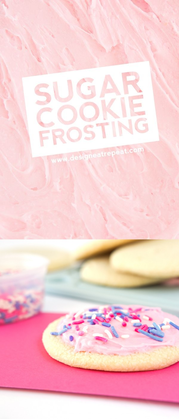 Homemade Sugar Cookie Frosting