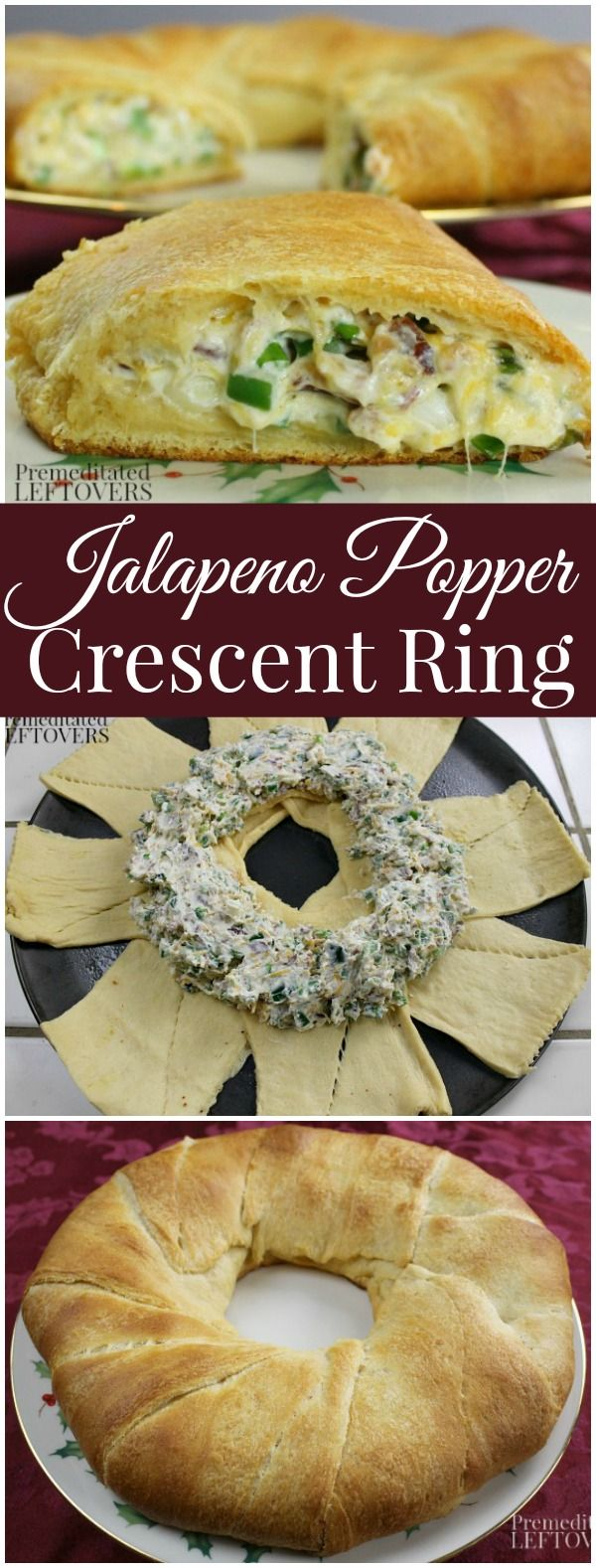 Jalapeno Popper Crescent Ring