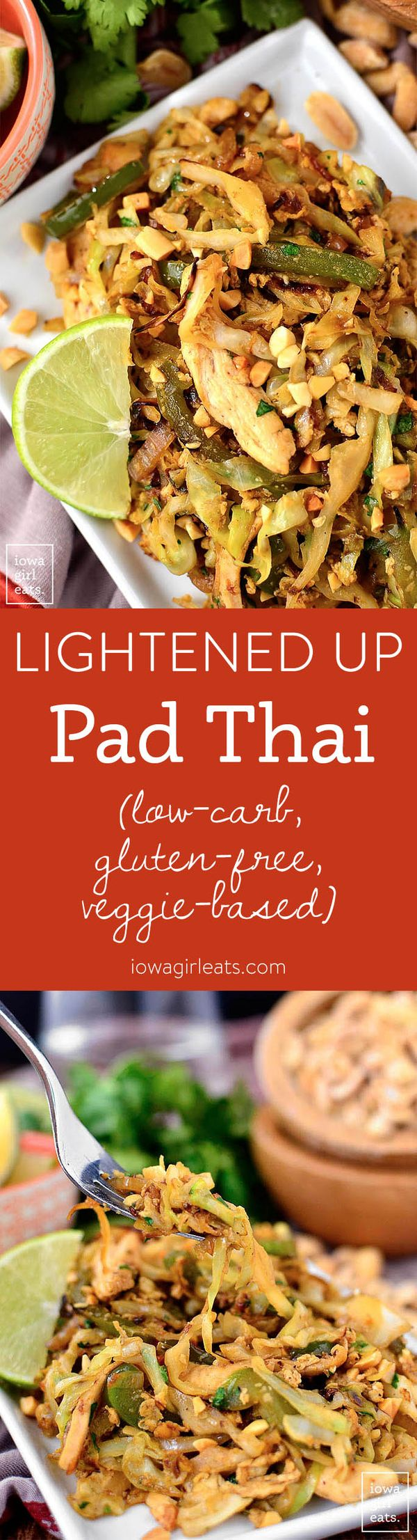 Lightened Up Pad Thai