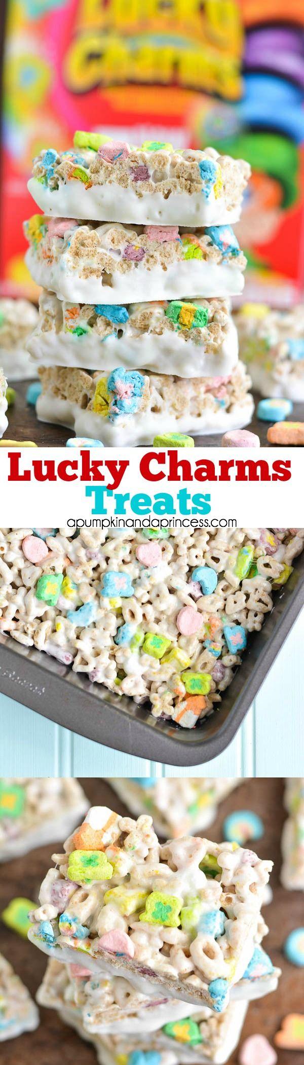 Lucky Charms Treats