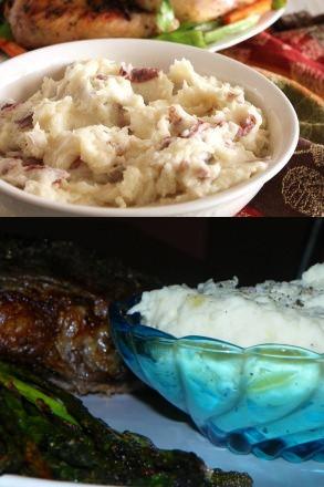 Paula Deen's Garlic Mashed Potatoes