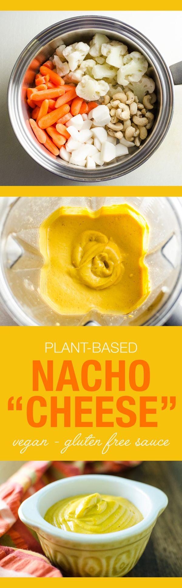 Plant-Based Nacho Cheese Sauce