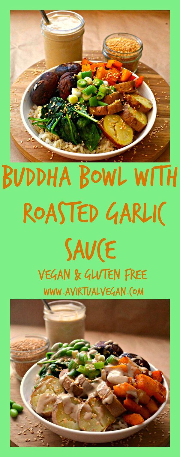 Roasted Garlic Buddha Bowl