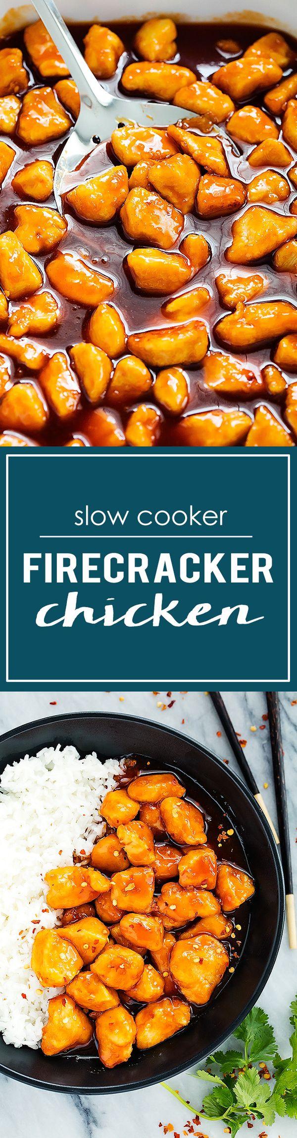 Slow Cooker Firecracker Chicken
