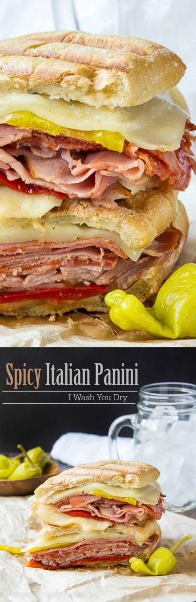 Spicy Italian Panini